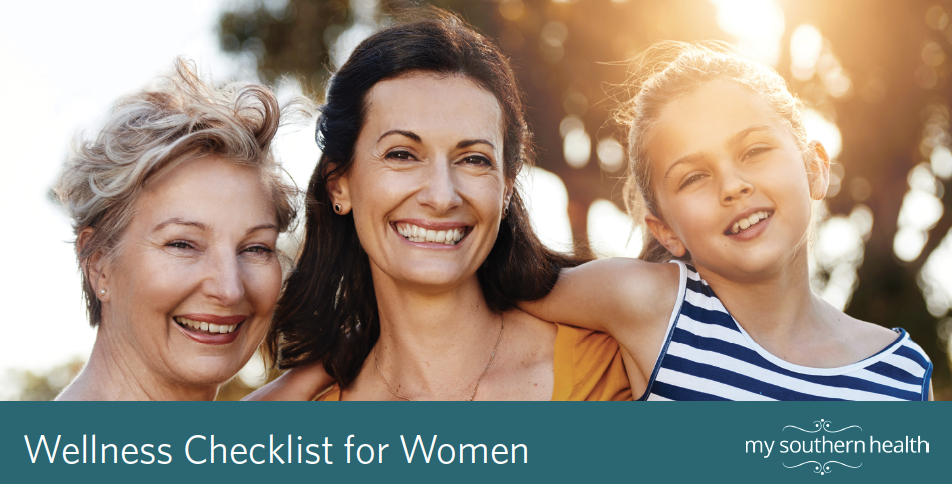 Women's Wellness Checklist