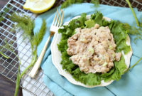 light tuna salad
