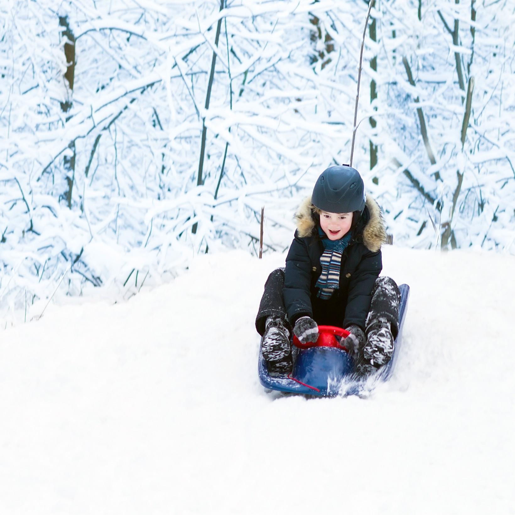 how to keep sledding safe
