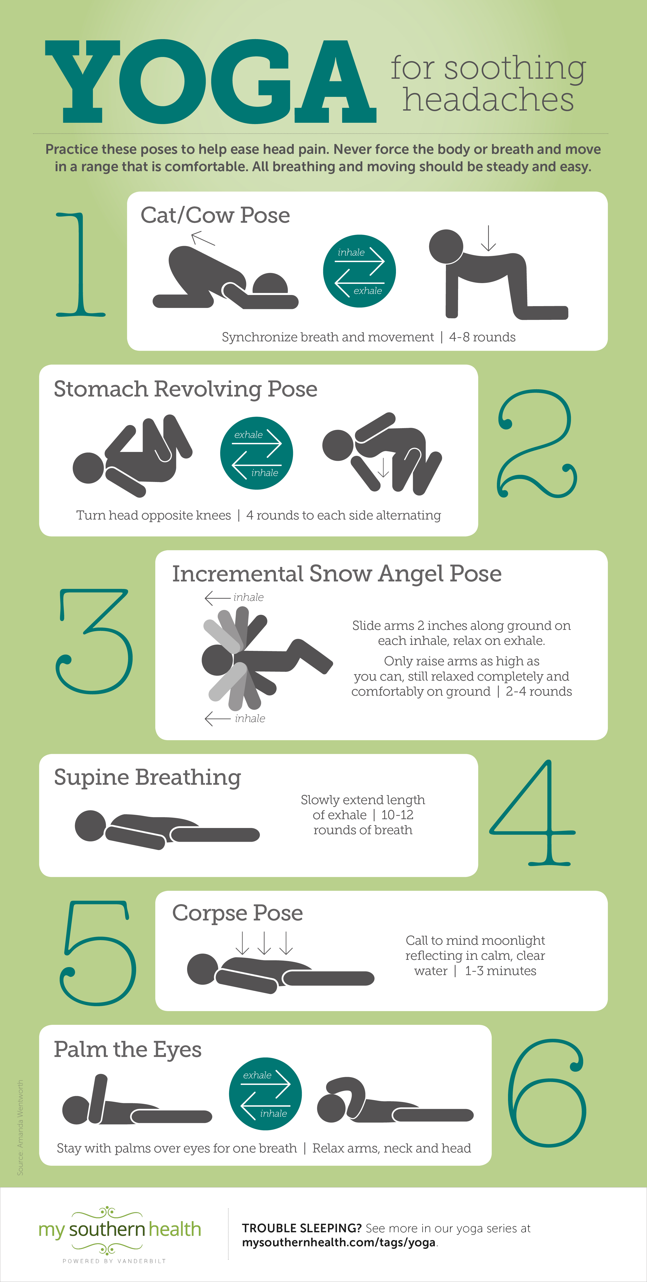 Reducing Headache Pain With Yoga My Southern Health
