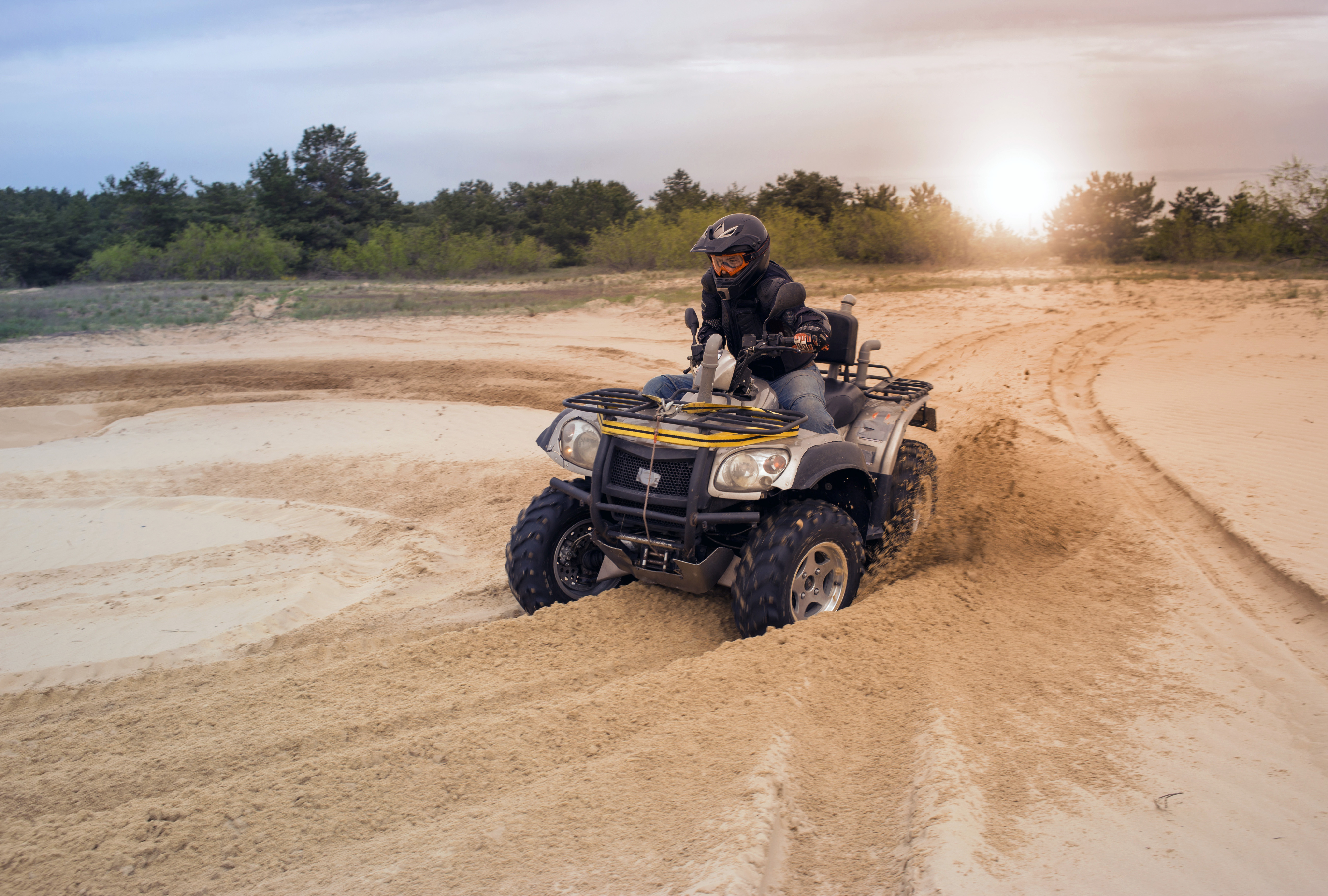 Advice to prevent ATV accidents