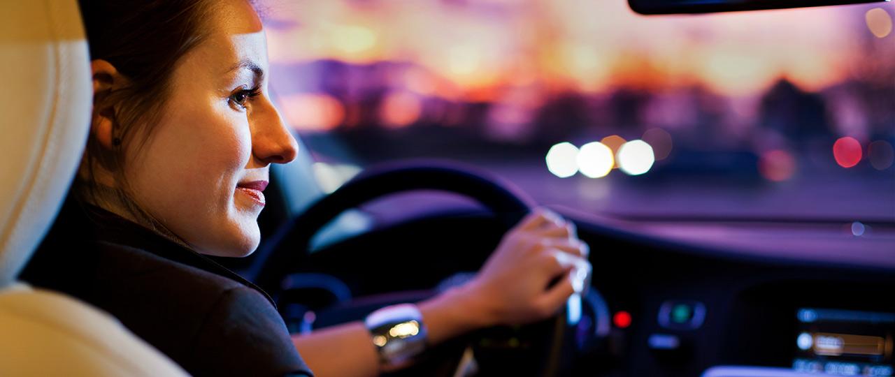 night driving time change