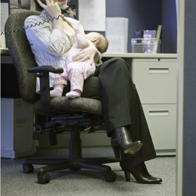 breastfeeding after returning to work