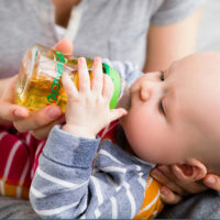 when can babies have juice
