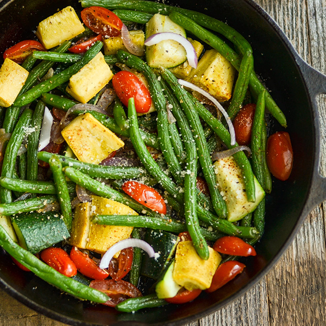 braised green beans recipe
