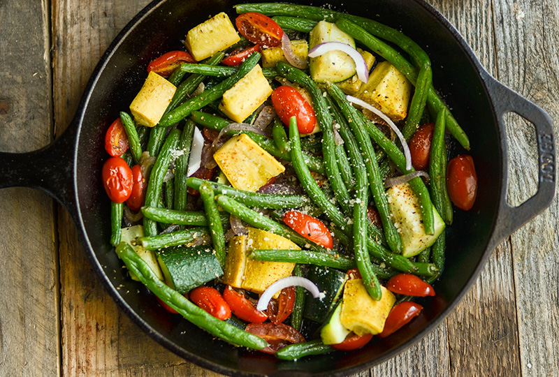 Recipe Braised Green Beans And Summer Vegetables