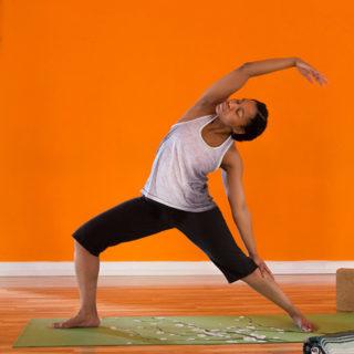 yoga poses for inner strength infographic