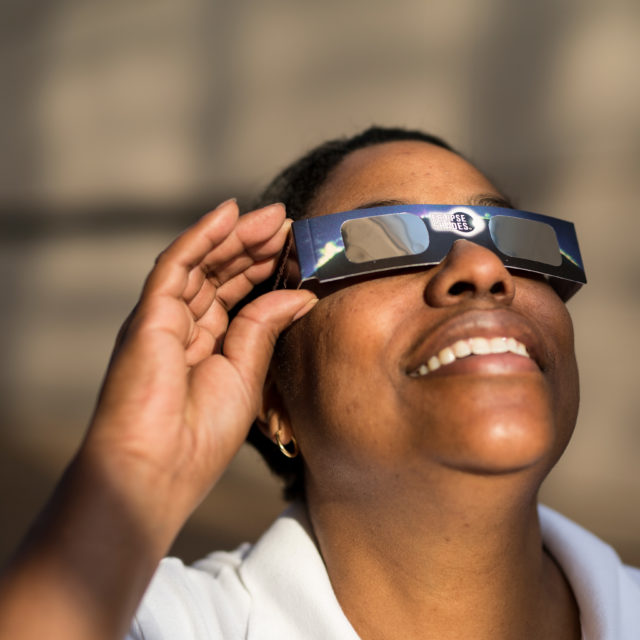 Keep an eye on safety during a solar eclipse