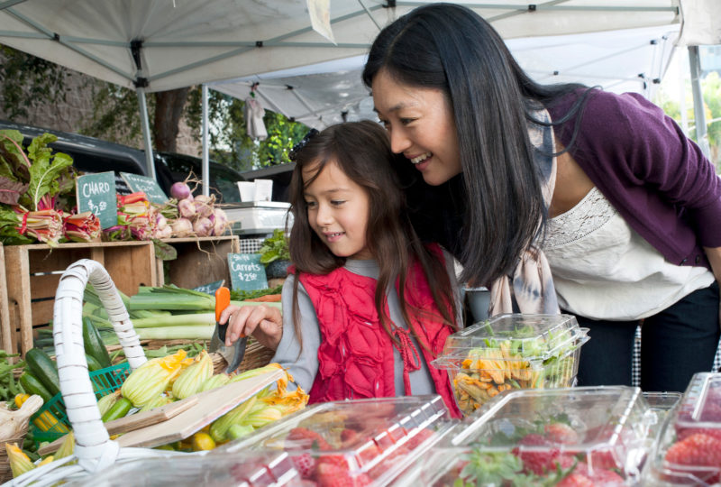 6 ways to get your children excited about eating healthy