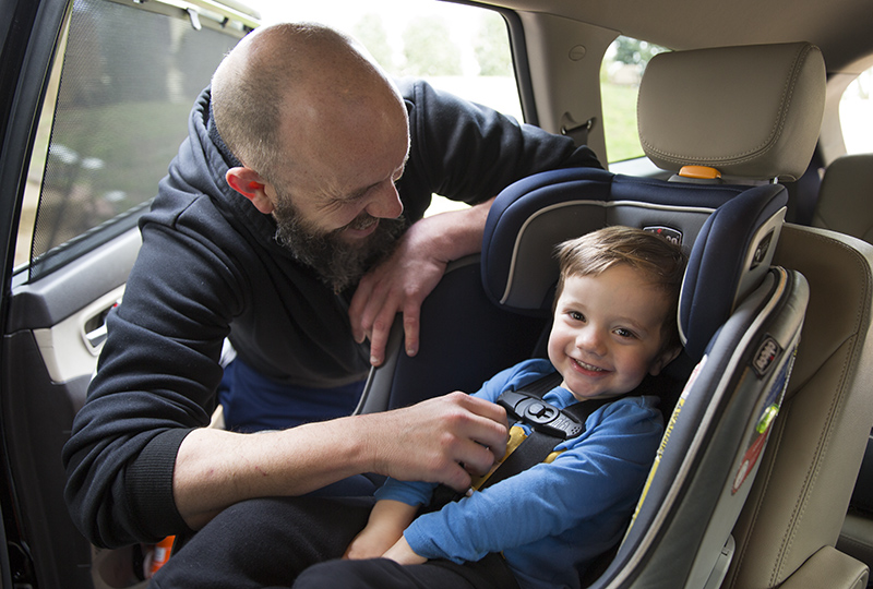 Child car seat guidelines for every age