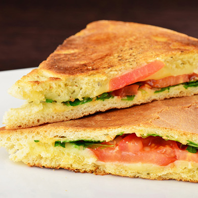 healthy grilled cheese sandwich without butter